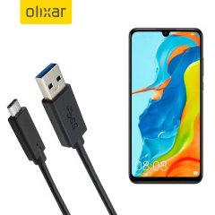 Zorg ervoor dat uw Huawei P30 Lite altijd volledig is opgeladen en gesynchroniseerd met deze compatibele USB 3.1 Type-C Male naar USB 3.0 mannelijke kabel. U kunt deze kabel gebruiken met een USB-wandlader of via uw desktop of laptop.