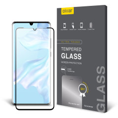 This ultra-thin tempered glass screen protector for the Huawei P30 Pro from Olixar offers toughness, high visibility and sensitivity all in one package.