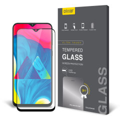 This ultra-thin tempered glass screen protector for the Samsung Galaxy M10 from Olixar offers toughness, high visibility and sensitivity all in one package.
