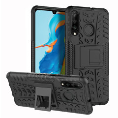 Protect your Huawei P30 Lite from bumps and scrapes with this black ArmourDillo case. Comprised of an inner TPU case and an outer impact-resistant exoskeleton, the ArmourDillo provides robust protection and supreme styling.