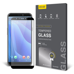 This ultra-thin tempered glass screen protector for the HTC Desire 12S from Olixar offers toughness, high visibility and sensitivity all in one package.