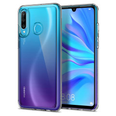 Protect your Huawei P30 Lite with the unique Ultra Hybrid clear bumper from Spigen. Complete with a clear back and air cushion technology to show off and protect your P30 Lite's sleek, modern design.