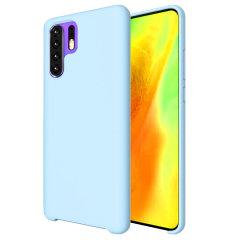 Olixar Soft Silicone Huawei P30 Pro Case - Pastel Blue