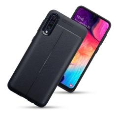 Olixar Attache Samsung Galaxy A50 Leather-Style Case - Black