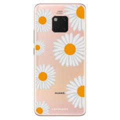 LoveCases Huawei Mate 20 Pro Daisy Case - Wit