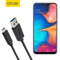 This 1 meter data / charging cable from Olixar allows you to connect your Samsung Galaxy A20 to a PC via USB-C. It supports charging currents over 2 amps, so your Samsung Galaxy A20 can be up and running from flat in no time.