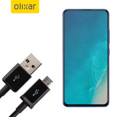 This 1 meter data / charging cable from Olixar allows you to connect your Vivo V15 Pro to a PC via Micro USB. It supports charging currents over 2 amps, so your Vivo V15 Pro can be up and running from flat in no time.