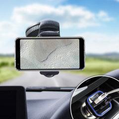 Houd je telefoon veilig in je auto met deze volledig verstelbare DriveTime-autohouder voor je Google Pixel 3 XL Lite.