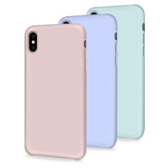 Custom moulded for the iPhone XS, this three pack of soft silicones case from Olixar provides excellent protection against damage as well as a slimline fit for added convenience.