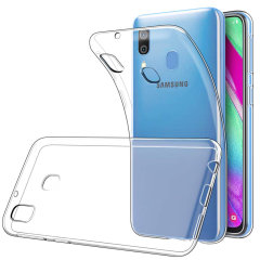 Funda Samsung Galaxy A40 Olixar Ultra-Thin Gel - Transparente