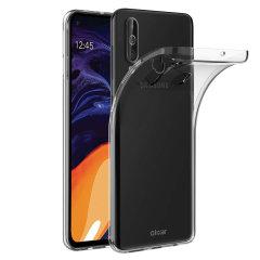 Custom moldado para o Samsung Galaxy A60, este 100% claro Ultra-Thin caso pela Olixar oferece ajuste fino e proteção durável contra danos, acrescentando quase nada em tamanho e peso.