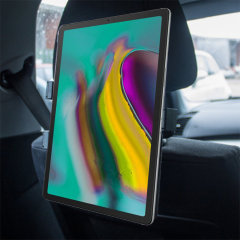 Easy to install, this Galaxy Tab S5e car headrest mount from Olixar places your tab in the rear of the car, resulting in a comfortable viewing angle.