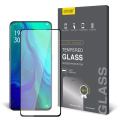 This ultra-thin tempered glass screen protector for the Oppo Reno from Olixar offers toughness, high visibility and sensitivity all in one package.