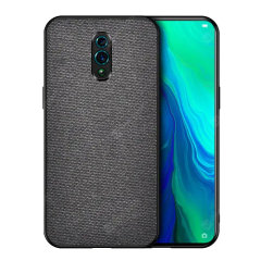 Protect your Oppo Reno with this slim fitting and smooth touch Fabric case from Olixar. Featuring a premium black fabric with a contrasting dark TPU frame, this case matches the beauty of your new Oppo Reno perfectly.