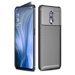 Olixar Carbon Fibre case is a perfect choice for those who need both the looks and protection! A flexible TPU material is paired with an eye-catching carbon print to make sure your Oppo Reno is well-protected and looks good in any situation.