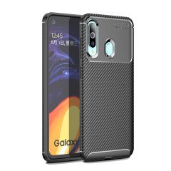 Olixar Carbon Fibre case is a perfect choice for those who need both the looks and protection! A flexible TPU material is paired with an eye-catching carbon print to make sure your Samsung Galaxy A60 is well-protected and looks good in any setting.