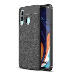 Protección para el Samsung Galaxy A60 gracias a esta funda Olixar Attache, fabricada con un material de alta calidad, muy similar al cuero, por lo que además de protección también ofrece un acabado elegante y premium.