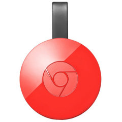 Stream the multimedia content your smartphone, tablet or laptop to your TV with the Chromecast 2 from Google. Works with many applications such as Netflix, Youtube, and Spotify.