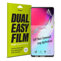The New 4 Layer Dual Easy Full Coverage Screen Protector from Rearth Ringke is made to allow easier installation: adhere the protective film onto your phone screen for an effortless and flawless finish.