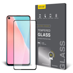 This ultra-thin tempered glass screen protector for the Samsung Galaxy A60 from Olixar offers toughness, high visibility and sensitivity all in one package.