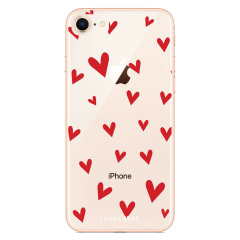 Take your iPhone 8 Plus to the next level with this hearts design phone case from LoveCases. Cute but protective, the ultrathin case provides slim fitting and durable protection against life's little accidents.