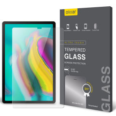 This ultra-thin tempered glass screen protector for the Samsung Galaxy Tab S5e from Olixar offers toughness, high visibility and sensitivity all in one package.