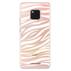 Take your Huawei Mate 20 Pro to the wild side with this zebra print phone case from LoveCases. Cute but protective, the ultra-thin case provides slim fitting and durable protection against life's little accidents.