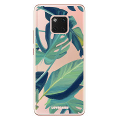 Coque Huawei Mate 20 Pro LoveCases Design Tropical – Vert / transp.