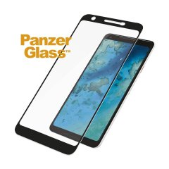 Introducing the premium range PanzerGlass glass screen protector in black. Designed to be shock and scratch resistant, PanzerGlass offers the ultimate protection, while also matching the colour of your stunning Google Pixel 3a.