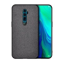 Protect your Oppo Reno 10x Zoom with this slim fitting and smooth touch Fabric case from Olixar. Featuring a premium black fabric with a contrasting dark TPU frame, this case matches the beauty of your new Oppo Reno 10x Zoom perfectly.