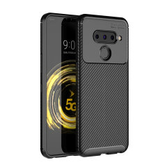 Olixar Carbon Fibre case is a perfect choice for those who need both the looks and protection! A flexible TPU material is paired with an eye-catching carbon print to make sure your LG V50 ThinQ is well-protected and looks good in any setting.