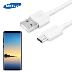 Perfect for charging and syncing across files, this official Samsung USB C to USB A cable or Samsung Galaxy Note 8 provides blistering charge and transfer speeds. It also supports up to 3 Amps of power, more than enough for fast charging.