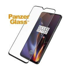 Vi presentiamo la gamma premium di proteggi schermo in vetro PanzerGlass in nero. Progettato per essere resistente agli urti e ai graffi, PanzerGlass offre la massima protezione e al tempo stesso si abbina al colore della vostra splendida OnePlus 6T.