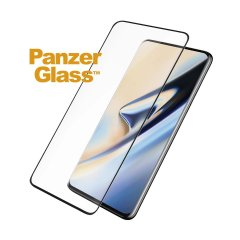 Introducing the premium range PanzerGlass glass screen protector in black. Designed to be shock and scratch resistant, PanzerGlass offers the ultimate protection, while also matching the colour of your stunning OnePlus 7 Pro.