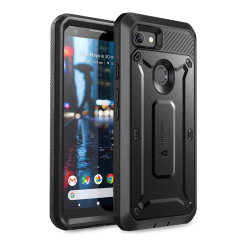 Shield your Google Pixel 3A from drops, scratches, scrapes and other damage with the UB Pro case from i-Blason in Black. This case offers superb military grade protection while adding virtually no extra bulk or weight to your device