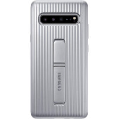 This Official Samsung Protective cover in Silver is the perfect accessory for your Galaxy S10 5G smartphone.