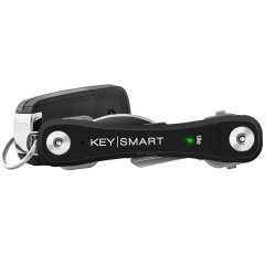 The KeySmart Pro is a compact key organizer with Tile smart location that allows you to track your missing keys, all from the free Tile app on your phone. Includes a built-in LED light, bottle opener and a loop to attach your car key fob and 10 keys.