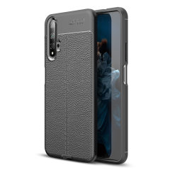 Olixar Attache Huawei Honor 20 Leather-Style Protective Case - Black