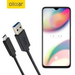 Zorg ervoor dat uw Oppo Reno Z altijd volledig is opgeladen en gesynchroniseerd met deze compatibele USB 3.1 Type-C Male naar USB 3.0 mannelijke kabel. U kunt deze kabel gebruiken met een USB-wandlader of via uw desktop of laptop.