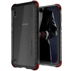 Custom moulded for the Samsung Galaxy A10/A10e, the Ghostek tough case in Smoke colour provides a slim fitting, stylish design and reinforced corner protection against shock damage, keeping your Samsung Galaxy A10/A10e looking great at all times.