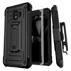 Custom moulded for the Samsung Galaxy J2 range, the Ghostek tough case in Black colour provides a slim fitting, stylish design and reinforced corner protection against shock damage, keeping your Samsung Galaxy J2 range looking great at all times.