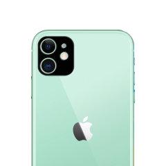 Dit 2-pack ultradun geharde glazen achtercamera beschermers voor de iPhone 11 van Olixar biedt taaiheid en superieure helderheid voor uw fotografie in één pakket.