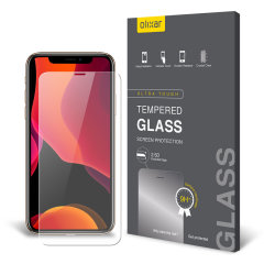 This ultra-thin tempered glass screen protector for the iPhone 11 Pro from Olixar offers toughness, high visibility and sensitivity all in one package. This screen protector has been specially designed to be compatible with a wide range of cases.