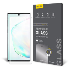 This ultra-thin tempered glass screen protector for the Samsung Galaxy Note 10 from Olixar offers toughness, high visibility and sensitivity all in one package.