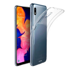 Custom moulded for the Samsung Galaxy A10e, this clear FlexiShield case by Olixar provides slim fitting and durable protection against damage.