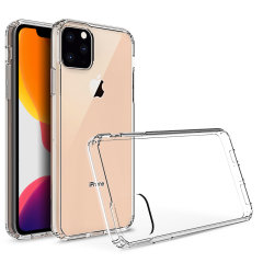 Custom moulded for the Apple iPhone 11 Pro Max. This clear Olixar ExoShield tough case provides a slim fitting stylish design and reinforced corner shock protection against damage, keeping your device looking great at all times