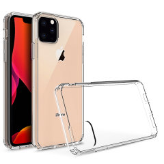 Custom moulded for the Apple iPhone 11 Pro. This clear Olixar ExoShield tough case provides a slim fitting stylish design and reinforced corner shock protection against damage, keeping your device looking great at all times