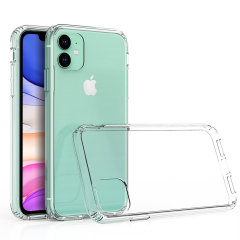 Custom moulded for the Apple iPhone 11. This clear Olixar ExoShield tough case provides a slim fitting stylish design and reinforced corner shock protection against damage, keeping your device looking great at all times