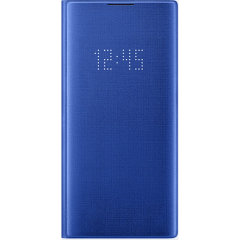 Protect your Samsung Galaxy Note 10 Plus screen from harm and keep up to date with your notifications through the intuitive LED display with the official blue LED cover from Samsung.