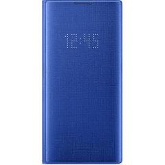 Schützen Sie Ihr Samsung Galaxy Note 10 Plus-Display vor Beschädigungen und halten Sie sich über das intuitive LED-Display mit dem offiziellen LED View Cover von Samsung mit Ihren Benachrichtigungen auf dem Laufenden.